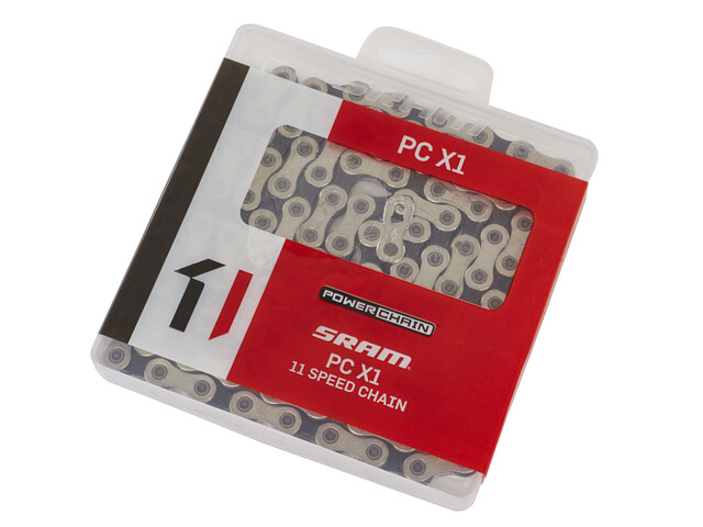 SRAM PC X1 Kette 11-fach inkl. PowerLock silber